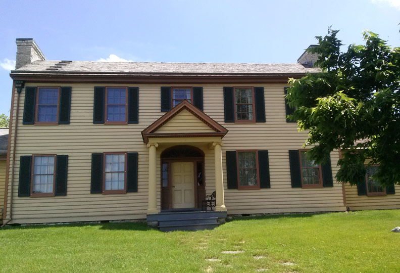 Home Colonel Davenport Historical Foundation